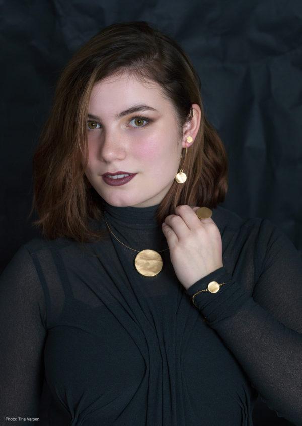 LUNA smykkekolleksjon designet og produsert for hånd av Merete Mattson