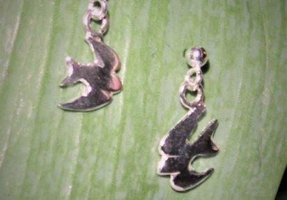 Svale øredobber mini heng – Swollow earrings mini